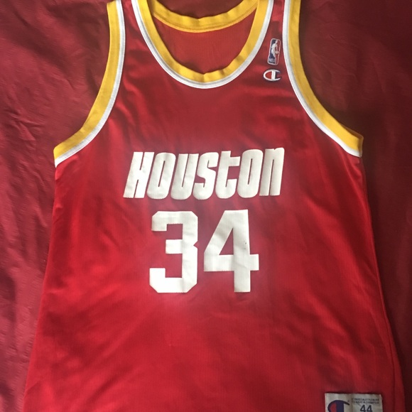 2f8d1cf97 Champion Other - Houston Rockets Hakeem Olajuwon Champion Jersey